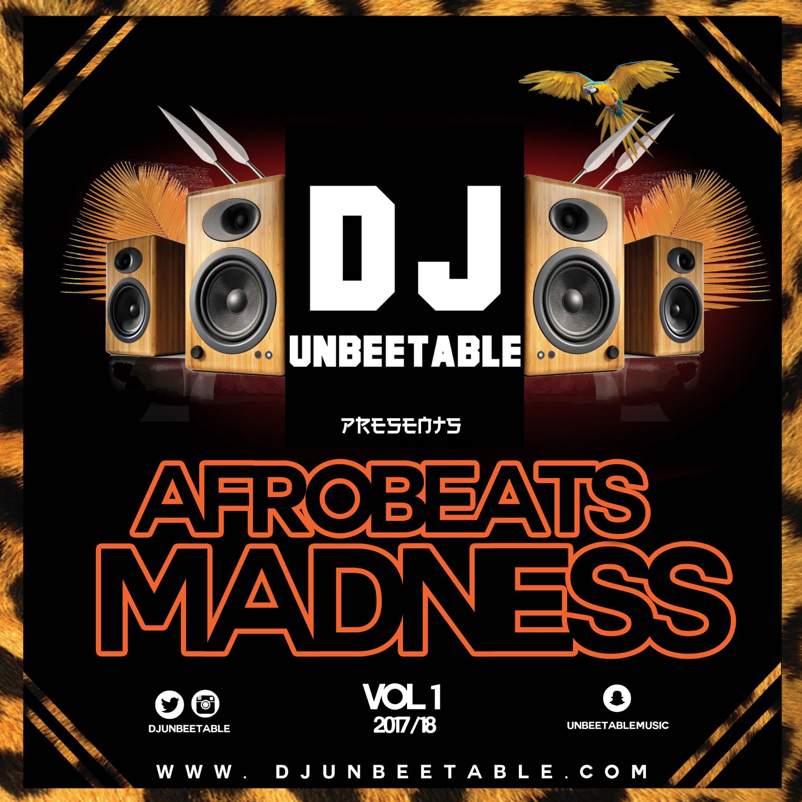DJ_UNBEETABLE Afrobeat madness vol 1