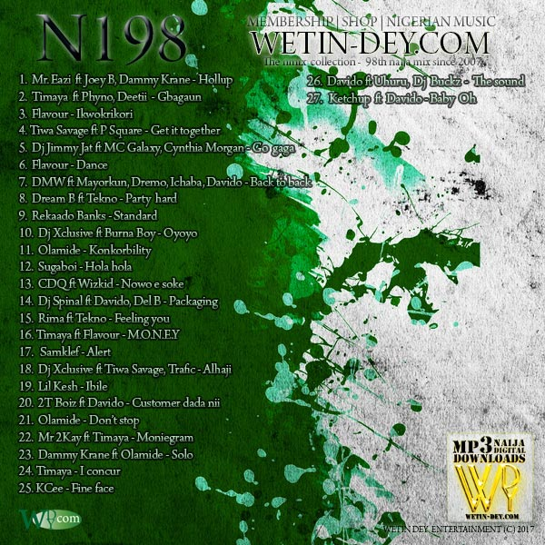 N198 of the wetin-dey.com N mix collection