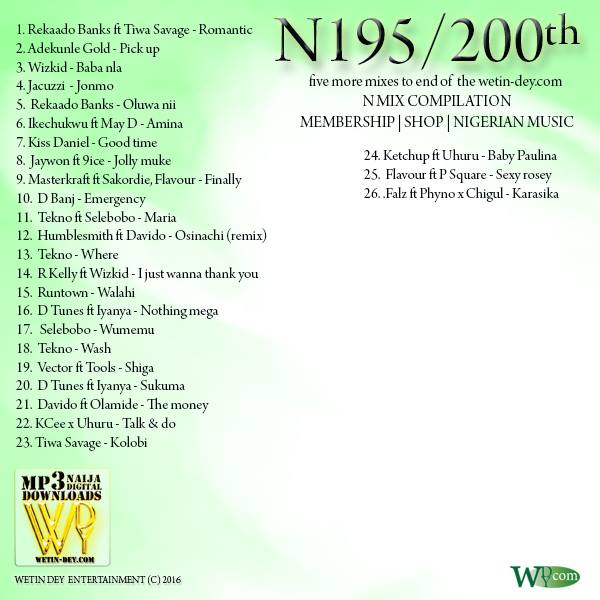 N195 album sleeve